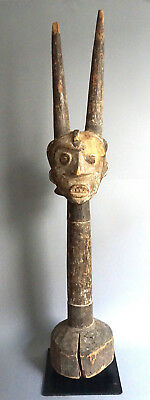 Igbo Mask Headdress/Headcrest · Aufsatzmaske · coiffe masque· IBO/IGBO · NIGERIA