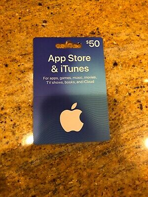 Apple Store & iTunes $50 Gift Card