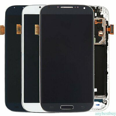 OEM Samsung Galaxy S4 Touch Screen Digitizer LCD Display Frame Assembly US