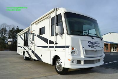 2009 Damon Challenger 371 Class A Ford Motor Home Used RV With Unique Layout