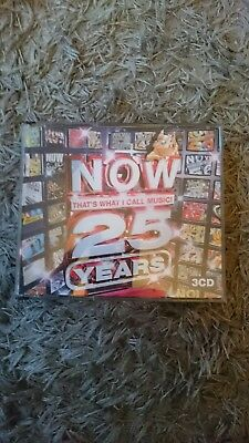 Various Artists - Now That's What I Call Music - 25 Years (2008) 3 x CD Set