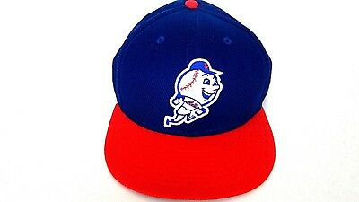 a87823dc New York Mets New Era 59Fifty Mr Met Baseball cap hat authentic MLB size 8