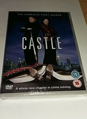 Castle Season 1 DVD Brand New & Sealed Free 1st Class Postage Next Day Dispatch