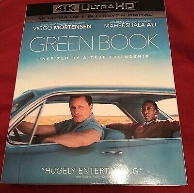 GREEN BOOK (4K Ultra HD + Blu-ray, with SLIPCOVER)