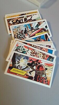 Complete Set Rare Vintage 1967 Dr Who Adventure Walls Ice Cream Cards