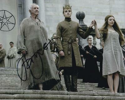 Jonathan PRYCE Actor signed Game of Thrones 8x10 Photo AFTAL Dealer 135