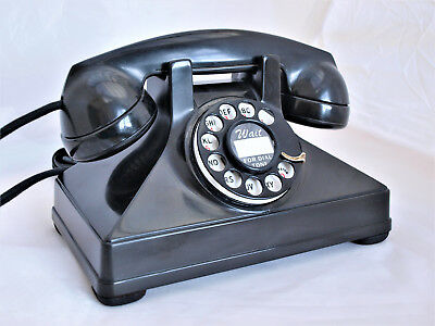 1940s TELEPHONE Canadian BAKELITE ART DECO, AND VERY COLLECTIBLE FULLY RESTORED