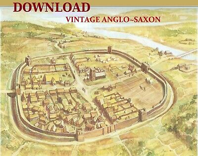Anglo~Saxon England, Archaeology, Medieval, Download 43 Vintage Books
