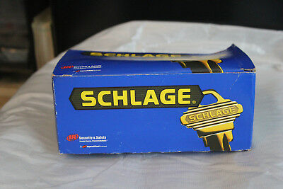 Brand New Schlage Right Hand Polished Brass Single Dummy Door Lever F170 Fla 605