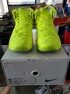 best service 50320 1dc26 Nike Lebron XII 12 EXT Men s Size 9.5 Basketball Shoes 748861-700 used rep  box
