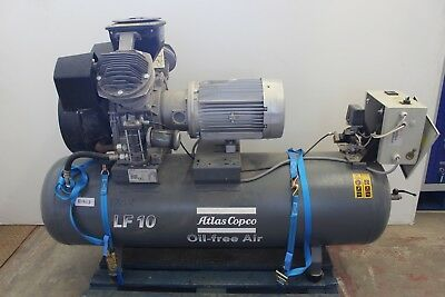 Atlas Copco LF10 Oil-free Industrial Lab Compressor LF10-UV