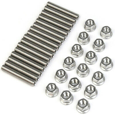 Exhaust Manifold Stud Kit fits Ford 4.6 & 5.4 Liter V8 Stainless Steel 16 Studs