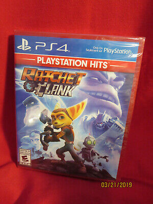 Ratchet & Clank (Sony PlayStation 4, 2016)PS HITS BRAND NEW FACTORY SEALED