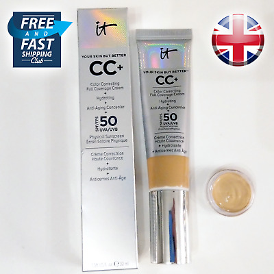 IT Cosmetics, Your Skin But Better CC+ SPF 50+ - 2ml / 4ml Sample Sizes