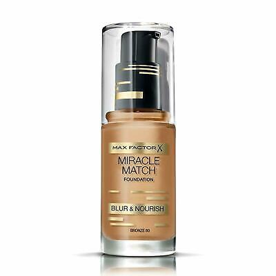 Max Factor Miracle Match Blur & Nourish Foundation - 30ML Shade Bronze