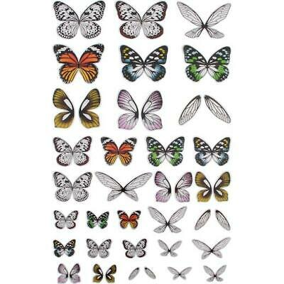 Tim Holtz Idea-ology Transparent Acetate Wings 72pcs TH93785
