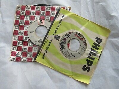 """lot of 2 Little Anthony & The Imperials Tears On My Pillow I Miss You 45 rpm 7"""""""
