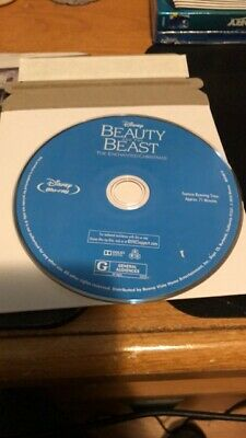Beauty and the Beast: The Enchanted Christmas (Blu-ray DISC ONLY!!MINT