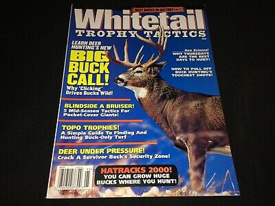 1999 Whitetail Trophy Tactics Magazine~Deer Hunting, Bucks~Great Ads and Images