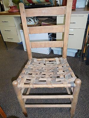 Ladderback Shaker Style Antique Chair