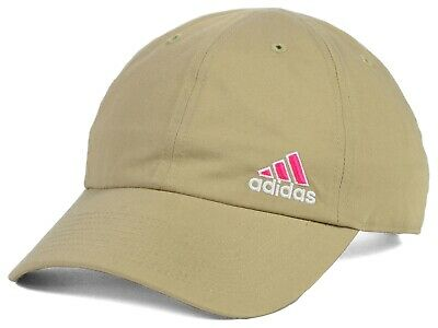 eb97d995fe7 ADIDAS - Women s Squad Relaxed Fit Athletic Climalite Adjustable Hat Cap  KHAKI