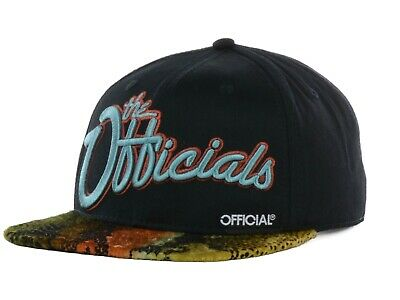 4a34e5f9e OFFICIAL CROWN OF LAUREL BRAND - The Officials Molly Strapback Hat Cap