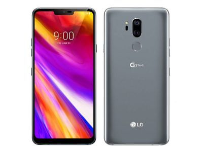 LG G7 ThinQ G710ULM - 64GB - Platinum Gray (GSM Unlocked) C