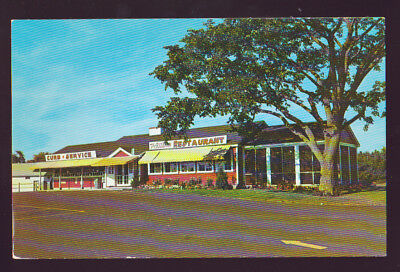 GILFORD NEW HAMPSHIRE NH The Red Barn Restaurant Vintage Postcard
