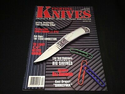 """Fighting Knives"" Magazine Winter 1990 HTF Khukuri, Bill Buchman, Shikefma ++"