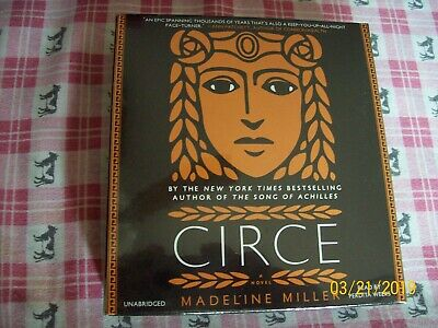 BRAND NEW, UNABRIDGED CD, CIRCE by Madeline Miller (2018, CD, Unabridged)