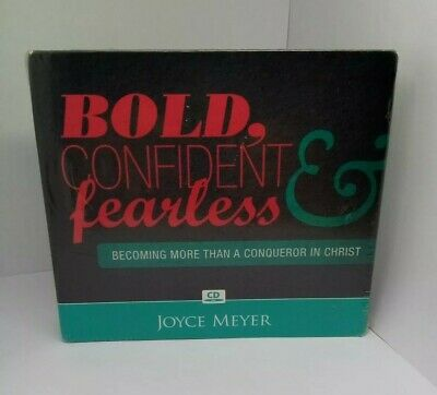 Bold Confident & Fearless Becoming More Than A Conquerer In Christ Joyce Meyer