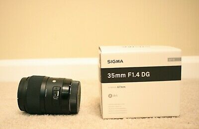 NEW Sigma 35mm F1.4 ART DG HSM Lens for Canon