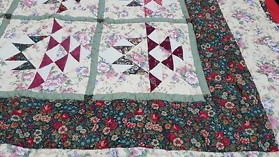 Patchwork Quilt Handmade Quilt Of Peace Beautiful New Stunning Work Bargain