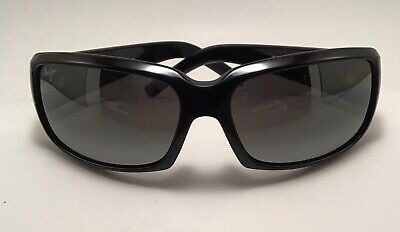 e093ed127346 Maui Jim MJ-236-02H Blue Water Sunglasses Black Frame w Grey Lenses