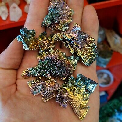 Small Bismuth Crystal Specimen grown in USA
