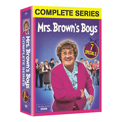 Mrs. Brown's Boys: The Complete Series - DVD Boxed Set - Region 1 (US & Canada)