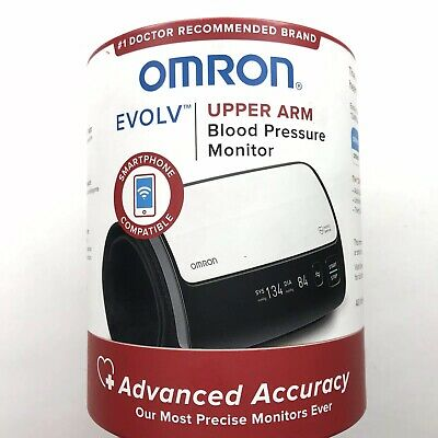 Brand New Omron Evolv BP7000 Bluetooth Wireless Upper Arm Blood Pressure Monitor