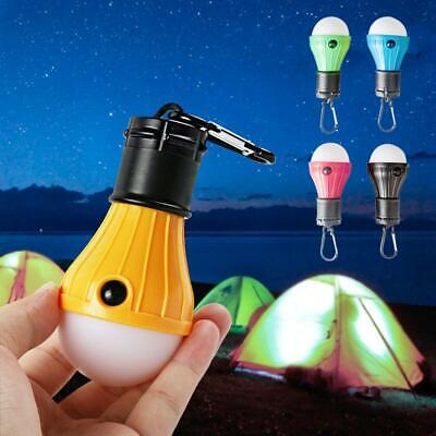 New 3 LED Portable Camping Tent Lamp Emergency Hiking Outdoor Light Lantern Bulb