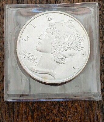 Mercury Dime Design .999 Fine Silver Round Bullion Coin One Troy Ounce 1 Oz.