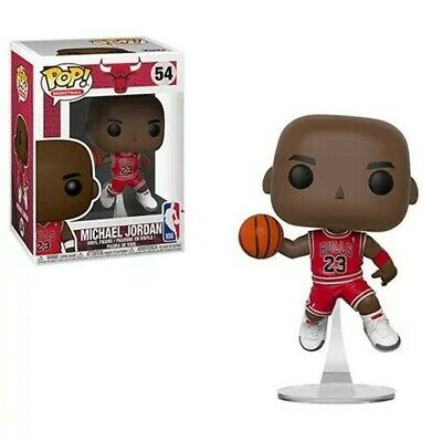 Michael Jordan Funko Pop! NBA #54 Chicago Bulls With Clear Protector - Unopened