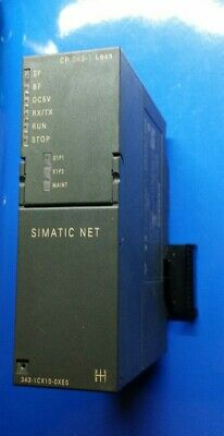 Siemens SIMATIC NET CP Industrial Ethernet  6GK7343-1CX10-0XE0