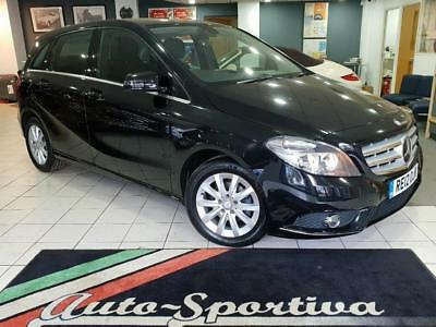 2012 Mercedes-Benz B Class 1.6 B180 BlueEFFICIENCY SE (s/s) 5dr Petrol black Man