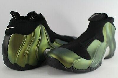 feb3c4727ed 1999 OG NIKE Flightposite Metallic Gold Black Size 13 830142-701 ...