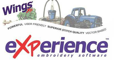 Wings eXPerience 2.12 Machine Digitizing Embroidery Program Full Version