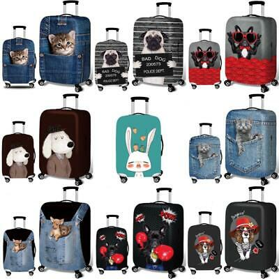 Elastic Luggage Suitcase Cover Travel Protector Bag Scratch Dust WaterProof guar