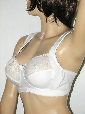 0a5dab1115e MISS MARY OF Sweden 2105 Lace Wide Strap Cotton Bra -  16.69