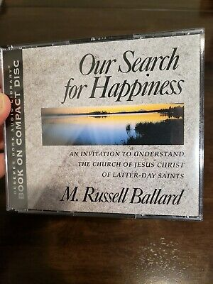 Audiobook Our Search for Happiness M Russell Ballard Mormon LDS book on 4 cds
