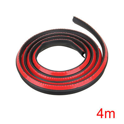 Black P Type 4M Car Door Auto Noise Rubber Edge Seal Weather Strip Weatherstrip