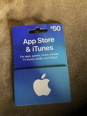 $50 Apple iTunes / App Store Gift Card FREE SHIPPING