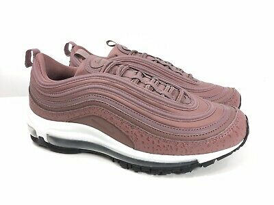 NIKE AIR MAX 97 Leather Smokey Mauve Shoes Women's Size 8.5
